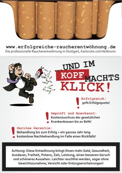 Rauchentwöhnung in Heilbronn, Pforzheim, Karlsruhe und Stuttgart